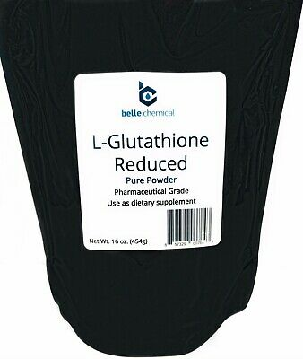 Pure L-Glutathione Reduced Pharmaceutical Grade 1 Pound