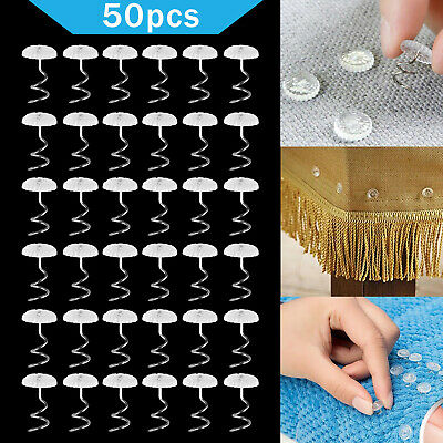 US Headliner Twist Pins Kit For Upholstery Fabric Sofa Chair Repair Crafts 50pcs