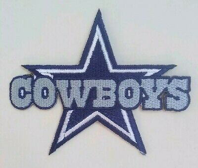 Dallas Cowboys Embroidered 3 14 Iron On Patch