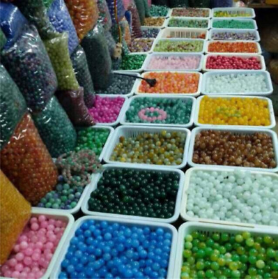 4mm 6mm 8mm 10mm Natural Gemstone Round Spacer Loose Beads Wholesale Lot sale