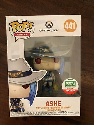 Funko Pop Ashe Overwatch Cyber Monday Funko Shop Exclusive In-Hand