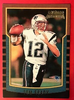 Tom Brady Rookie Card - 2000 Bowman 236 - New England Patriots - RP