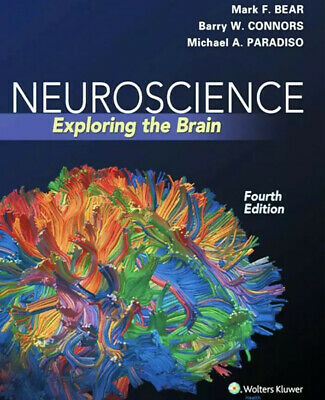 Neuroscience Exploring the Brain 4th Edition by Mark F- Bear - PDF ONLY
