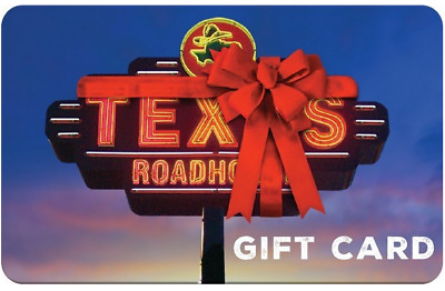 50 Texas Roadhouse Gift Card - 21 OFF INSTANT EMAIL DELIVERY ONLY
