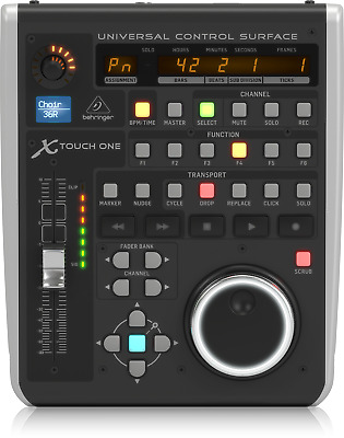 Behringer X-Touch One Universal Control Surface with Scribble Strip - Warranty