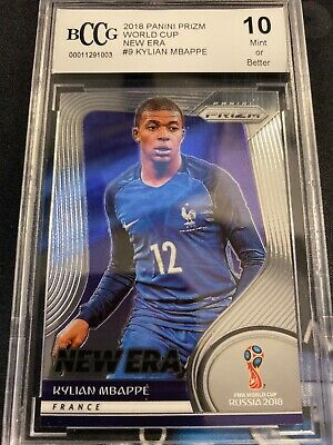 2018 World Cup Prizm New Era Kylian Mbappe France 🇫🇷 BCCG 10 RC