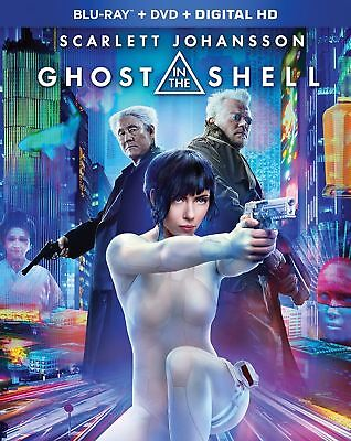 Ghost in the Shell Blu-ray SCARLETT JOHANSSON  DISC ONLY NO CASE NO ART