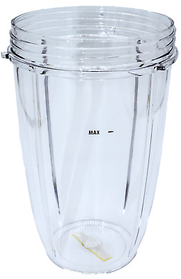 Blendin Replacement Parts Tall Jar Compatible with Nutribullet 600W - 900W