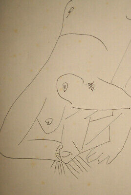 Pablo Picasso Original Drawing on paper Signed- estimate 150000 to 300000