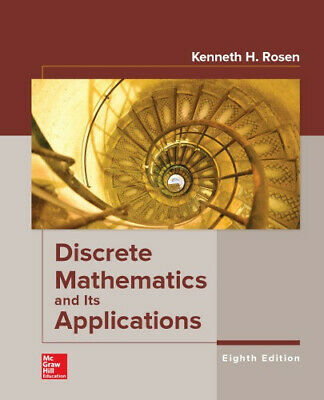 Discrete Mathematics and Its Applications 8th Edition By Kenneth Rosen P-D-F