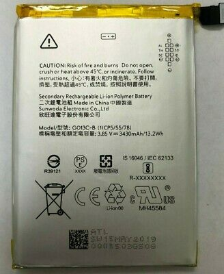 Replacement Battery for Google Pixel 3 XL G013C  3430mAh Same Day Ship