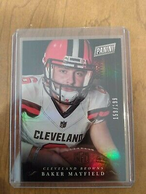 2018 Panini Black Friday Collection199 BM Rookies - Baker Mayfield Rookie Card