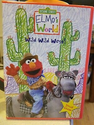 ELMOS WORLD WILD WILD WEST DVD NEW SEALED SESAME STREET SPECIAL EDITION