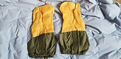 US Military Genuine Issue Cold Weather Trigger Finger Mittens wliners Sz Large