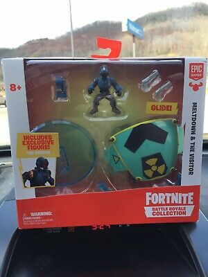 Fortnite Battle Royale Collection Meltdown - Visitor 2-Inch Vehicle - MiniFigure