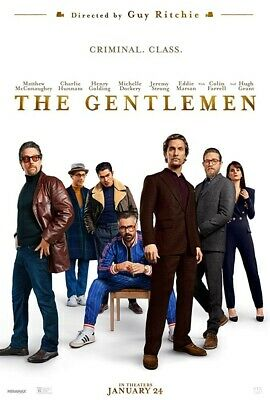 The Gentlemen HDX VUDU INSTAWATCH Digital ONLY