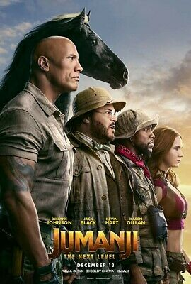 Jumanji The Next Level 4K UHD VUDU INSTAWATCH Digital ONLY