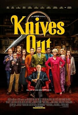 Knives Out 4K UHD VUDU INSTAWATCH Digital ONLY
