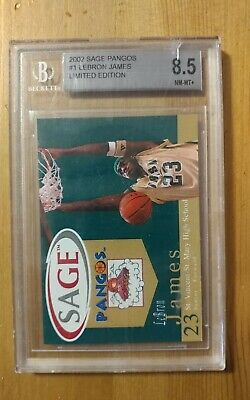 Lebron James 2002 Sage Pangos Limited BGS  8-5 Basketball Card 🏀 🏀 🏀