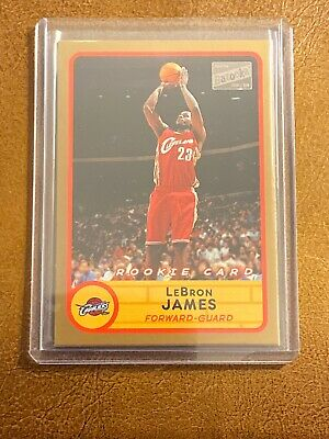 2003 Lebron James Topps Bazooka RC 223 Gold