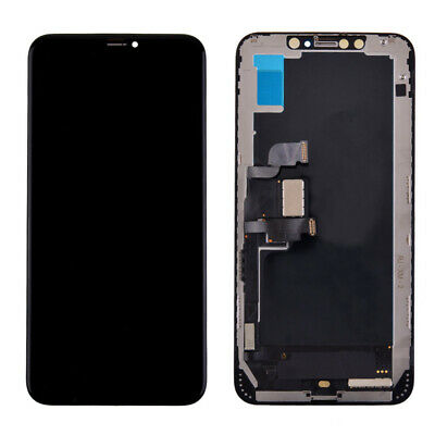 For iPhone 11 X XR XS MAX Soft OLED LCD Screen Display Touch Digitizer Assembly