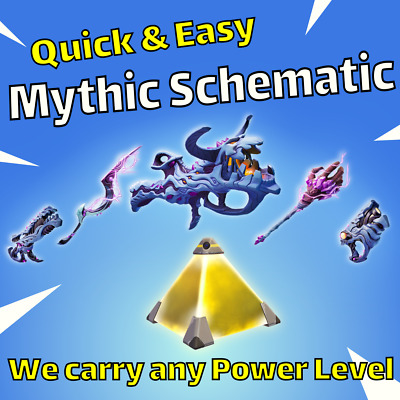 Mythic Weapon Schematic  MSK Storm King Carry  Fortnite Save The World