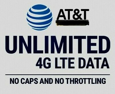 AT-T Grandfathered Unlimited Data Plan 4G LTE XLTE SIM Only - Beats Verizon