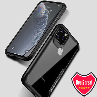 For iPhone 11 Pro Clear Case Mosafe X-Blade Shockproof Protective Cover
