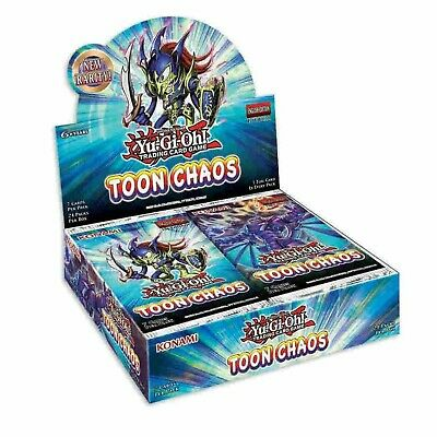 Toon Chaos 1st Edition English Booster Box YuGiOh NEW SEALED PRESALE SHIPS 619