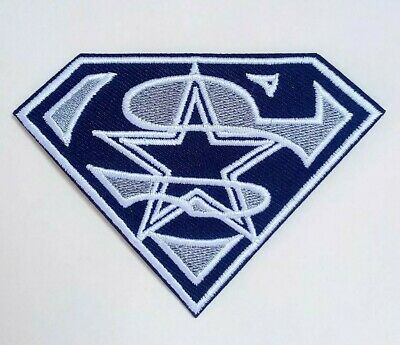 Dallas Cowboys Embroidered 3-5 Iron On Patch