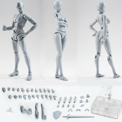 Man Woman Drawing Figures for Artists Action Figure Model Human Mannequin
