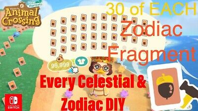 ACNH  CelesteZodiac ULTIMATE PACK - All Star Fragments 👑🔥FAST DELIVERY🔥