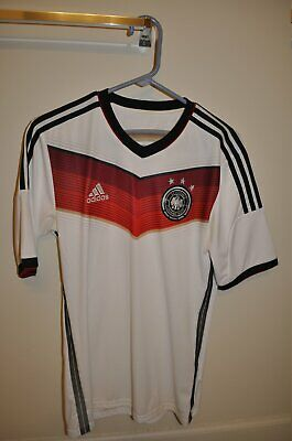 Mens Adidas Germany Jersey Size Small S 2014 World Cup FIFA World Champions