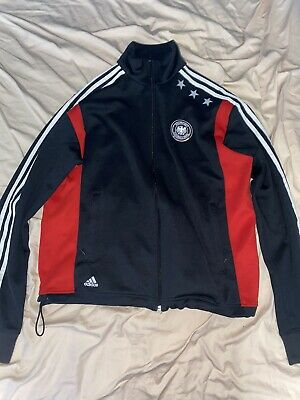 2006 Germany Adidas World Cup Soccer Track Jacket Mens Size Large