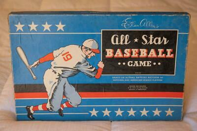 1952 ALL STAR BASEBALL BOARD GAME wCOMPLETE 1952 Cadaco Roster 40-2 Disks