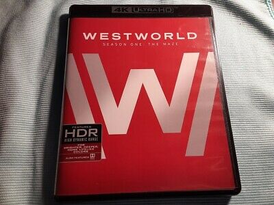 Westworld The Complete First Season 4K Ultra HD Blu-ray NO DIGITAL NO TIN