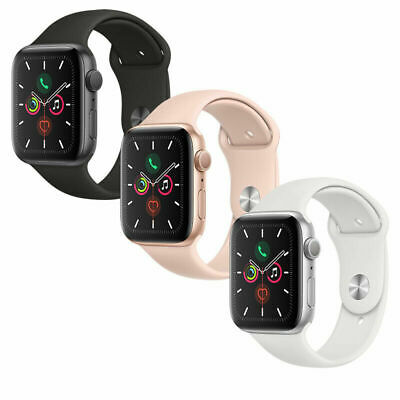 New Apple Watch Series 5 GoldGraySilver 40mm44mm PinkBlackWhite Sport Band