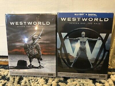 Westworld Seasons 1 and 2 Blu-Rays - No Digitals - Disc Untouched - See Photos