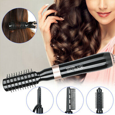 4 in 1 Hot Air Brush Dryer Curling Automatic Rotating Rod Hair Styling Tools Hot