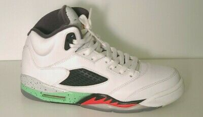 2015 Nike Air Jordan V 5 Retro Poison Green 440888-115 Size 6-5Y