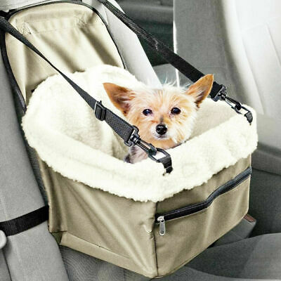 Dog Booster Seat – Dog Car Seat For Small Dogs – Pet Car Seat