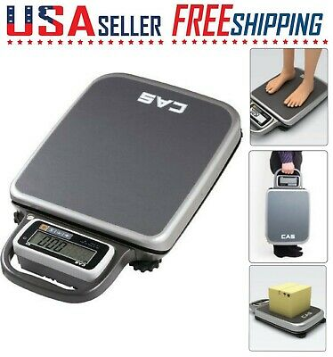 CAS PB Series Portable Bench Shipping Scale NTEP Legal for Trade Lbkg Backlight
