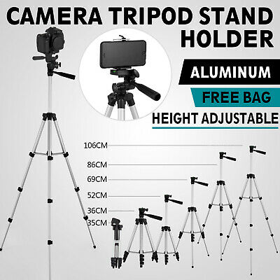 Professional Camera Tripod Stand Holder Mount for iPhone Samsung Cell Phone-Bag