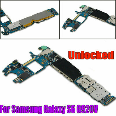 For Samsung Galaxy S6 G920V Verizon GSM Main Motherboard Logic Board Unlocked LC