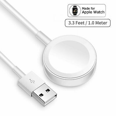 For Apple Watch Series SE654321 Magnetic Charging Dock USB Cable Charger