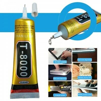 50ml T-8000 CLEAR Multi-purpose Glue for Jewelry handicrafts cell Phone tablets