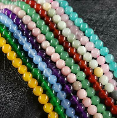 Wholesale 4mm6mm8mm10mm Natural Gemstone Stone DIY Jewelry Spacer Loose Beads