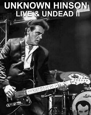 NEW UNKNOWN HINSON Live - Undead II SIGNED Limited Edition CD 2020