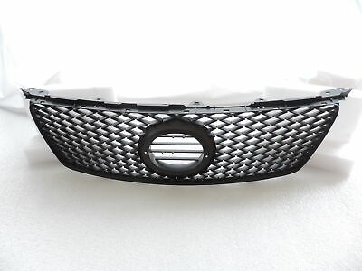 Fits on06 0708Lexus IS250  IS350 Black Sport Mesh Front Hood Bumper Grill