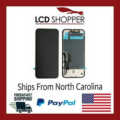USA iPhone 11 LCD Touch Screen Digitizer With Back Plate Replacement